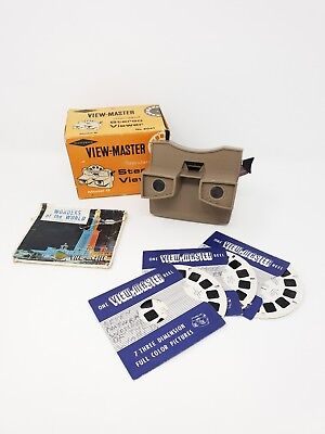 Standard stereo viewer view master boxed no 2041 model G sawyers