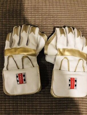 Gray Nicolls Wicket Keeping Gloves Cricket Wk Men's Adults (only Used Once)