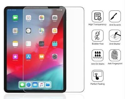 TEMPERED GLASS Screen Protector for Apple iPad Pro 12.9 2018 Face ID OK UK