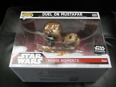 Funko Pop Duel On Mustafar Movie Moments