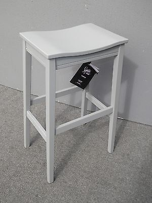 Ashley Signature Design Modern Style Gray Painted Stool Bar Stool