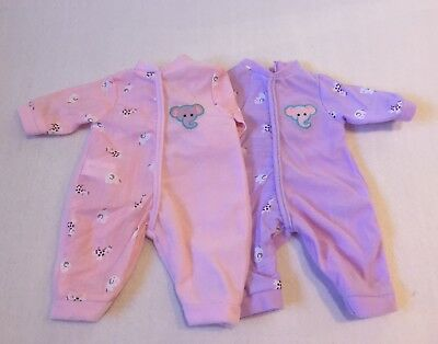 My First Baby Annabell Doll Clothes Sleepsuit Romper Set
