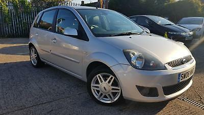 2008 Ford Fiesta 1.4 Ghia*Low Mileage*Leather*TOP SPEC*Full Service History