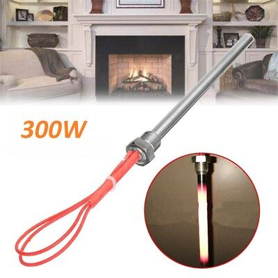 300W 220V Igniter Hot Rod Wood Pellet heating tube F/ Fireplace Grill Stove Part