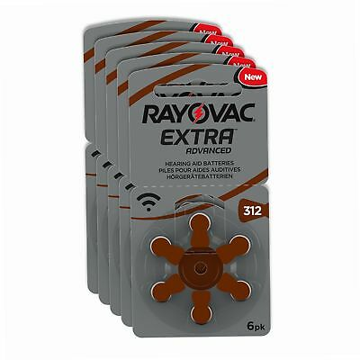 Rayovac Piles - Extra Advanced zinc-air pour aides auditives, code couleur...