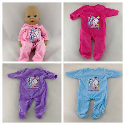 My First Baby Annabell Clothes Sleepsuits Rompers