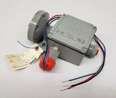 Sor 22Rb-K614-N4-B1A-Cs Differential Pressure Switch 2.5-45 In Wcd