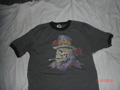 Vintage Poison T Shirt Large