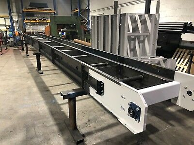 Conveyor belt made for the recycling industry 1000mm wide belt  x 7m long