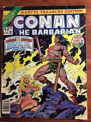 Conan The Barbarian Marvel Treasury  Edition 23 Comics 1979 Lot