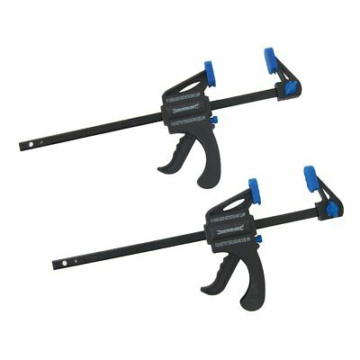 Silverline 250115 Quick Clamps 2 Pack 150mm