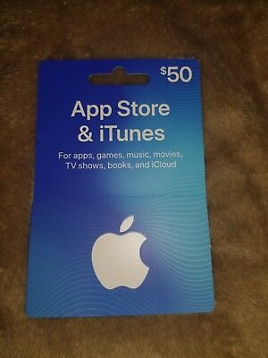 $50 Apple App Store / iTunes Gift Card