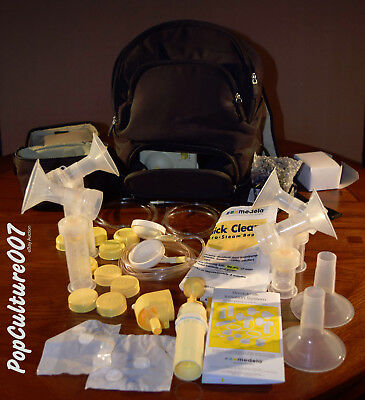Medela Pump In Style Advanced Double Breast Pump Backpack + Accessories