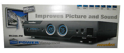 NEW Panamax M5300-PM Power Conditioner / Surge Protection for Home Theater