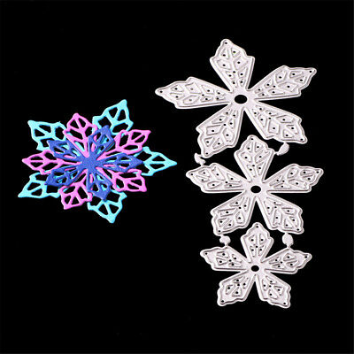 Beautiful Flowers Metal Cutting Dies for DIY Scrapbook Album Photo Card Decor BR