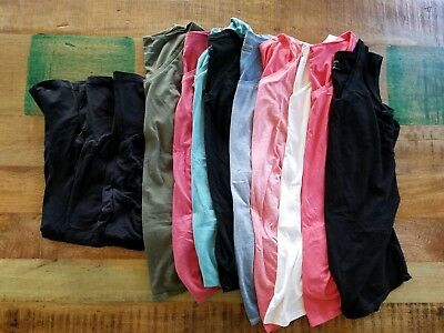 12 PC Motherhood Maternity, Pea In The Pod Clothes Lot Size S