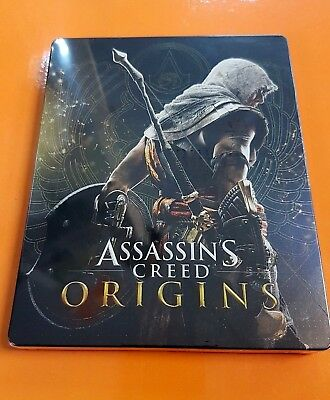 Assassin's creed Origins Official Steelbook New sealed Rare - No Game