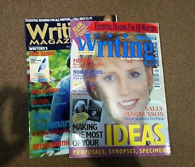 Vintage Issues of Writing Magazine - 1999 and 2000