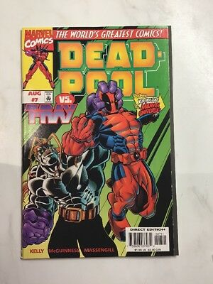 Marvel Comics Dead-Pool Vs. Tray August Edition 7