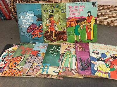 Lot of 10 Arch Books - Picture Bible Stories for Children Vintage Religious