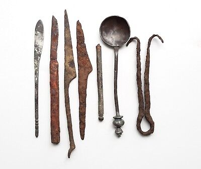 Silver Collection Roman surgical instrument 1-3 centuries
