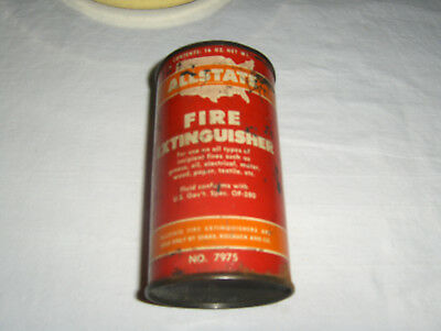 """ALLSTATE"" FIRE EXTINQUISHER  16 oz. CAN -  SOLD BY SEARS  ( FREE SHIPPING)"
