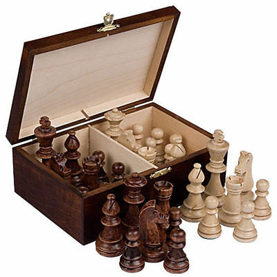 Staunton Tournament Chess Set with Made in Poland Chessmen Clock /&Mousepad Board