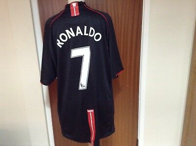 Manchester United Away Jersey Ronaldo 7 Mens XL