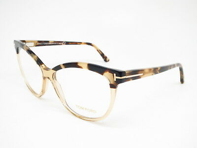 ab76ca99b1 Brand New Authentic Tom Ford TF 5511 059 Beige Tortoise Eyeglasses 54mm  Rx-able