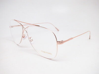 9f2378d6e0 New Authentic Tom Ford TF 5531 028 Rose Gold Eyewear Eyeglasses 56mm Rx-able