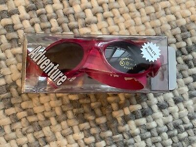 NEW Kidz Banz Adventure Banz Ages 2 -5  Pink 100% UV Protection 1 Size Fits All