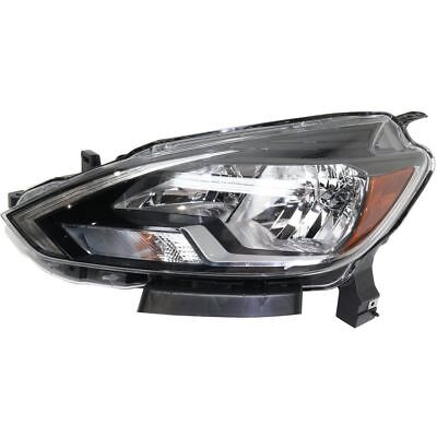 New Depo Halogen Headlight For 2016-2018 Sentra Driver Side 260603YU0A NSF