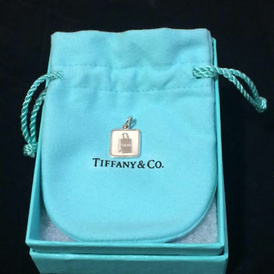 5e9abca0668 Tiffany & Co. Sterling Silver Lexicon Bag Tag Charm, Retired, BNIB 29256136