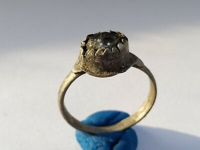 Ancient Silver Medieval Ring