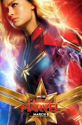 "Captain Marvel ( 11"" x 17"" ) Movie Collector's Poster Print ( T7) - B2G1F"