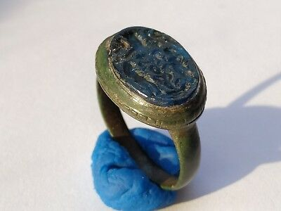 Amazing Ancient Bronze Medieval Ring