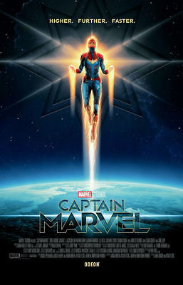 "Captain Marvel ( 11"" x 17"" ) Movie Collector's Poster Print ( T8) - B2G1F"
