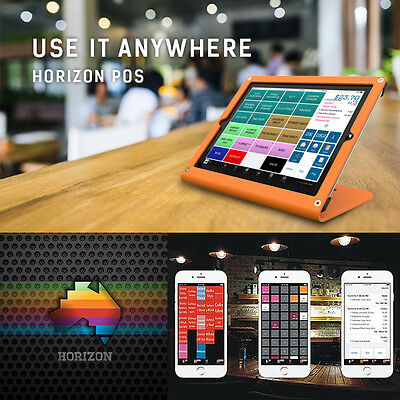 Horizon POS iPad software for Cafes, Takeaways, Bars & Food trucks (NOT Android)