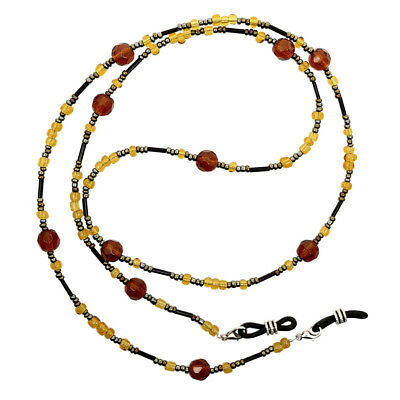 Beaded Eyeglass Spectacle Reading Glasses Chain Holder Neck Cord Strap Hot