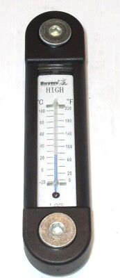 Oil Level Sight Gauge w/Thermometer, Dump Truck, Buyers Products Part# LDR02A