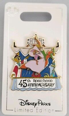 Disney Parks Robin Hood 45th Anniversary Limited Edition LE Pin