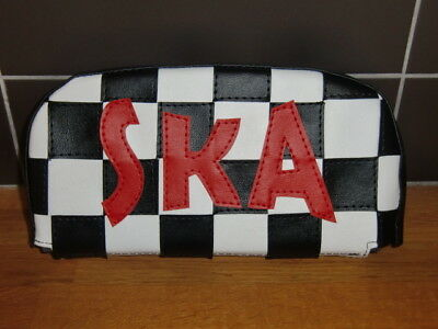 Check SKA Scooter Back Rest Cover (Purse Style)