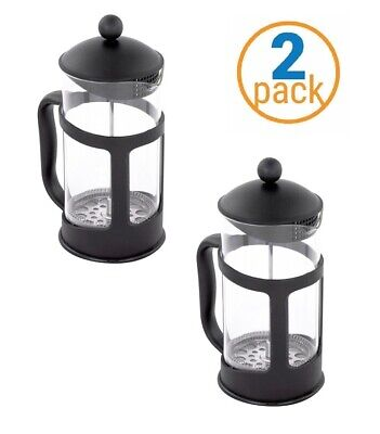 2 Pack Single Cup French Press - 11 Oz Coffee & Tea Maker
