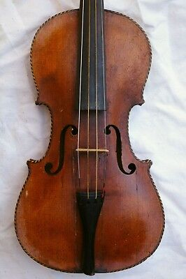 Nice Antique Violin Labeled Jacobus Stainer in Absam 1707