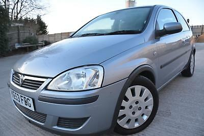 Vauxhall Corsa Active 1.0 12V 3 Door*low Mileage*only 54K Miles*alloys*ac*