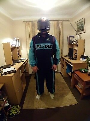 4 x racing team overalls/race suit all in one suit all are size Large (adult)