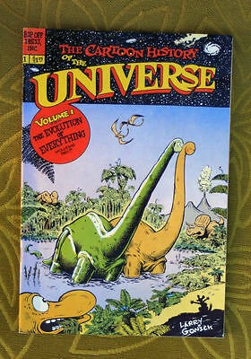 Underground Comix book 1978 Cartoon history of Universe # 1 great art 50 pages