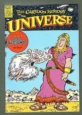 Underground Comix book 1987 Cartoon history of Universe # 4 great art 50 pages
