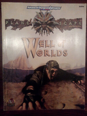 Advanced Dungeons & Dragons 2 Planescape - Well of Worlds - Adventure Abenteuer