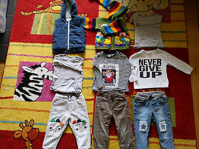 boys clothes 12-18 months bundle of 9, incl H&M, F&F, Tu